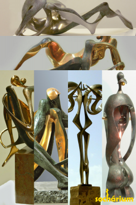 bronze sculptures PN